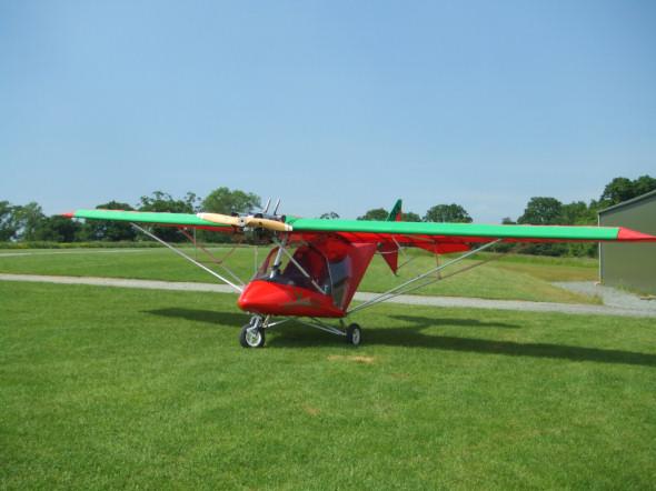FlyingInIreland com :: Raj Hamsa Jabiru (3)5, EI-DKK