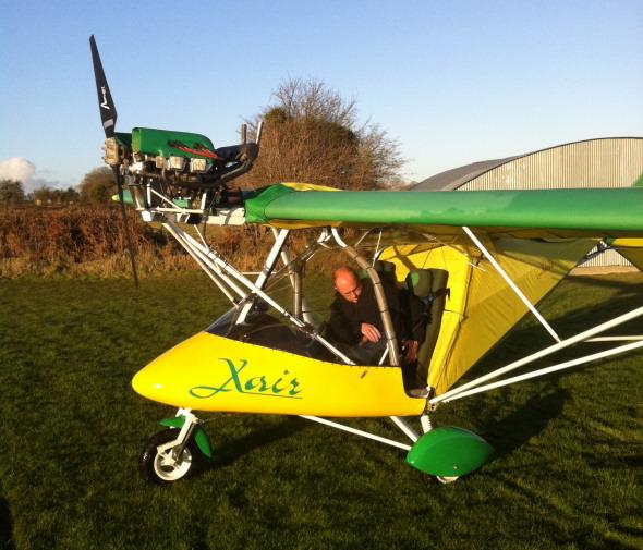 FlyingInIreland com :: Raj Hamsa X-Air Jabiru, EI-EOA