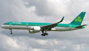 Aer Lingus 757 scheduled to operate a JFK-Knock charter