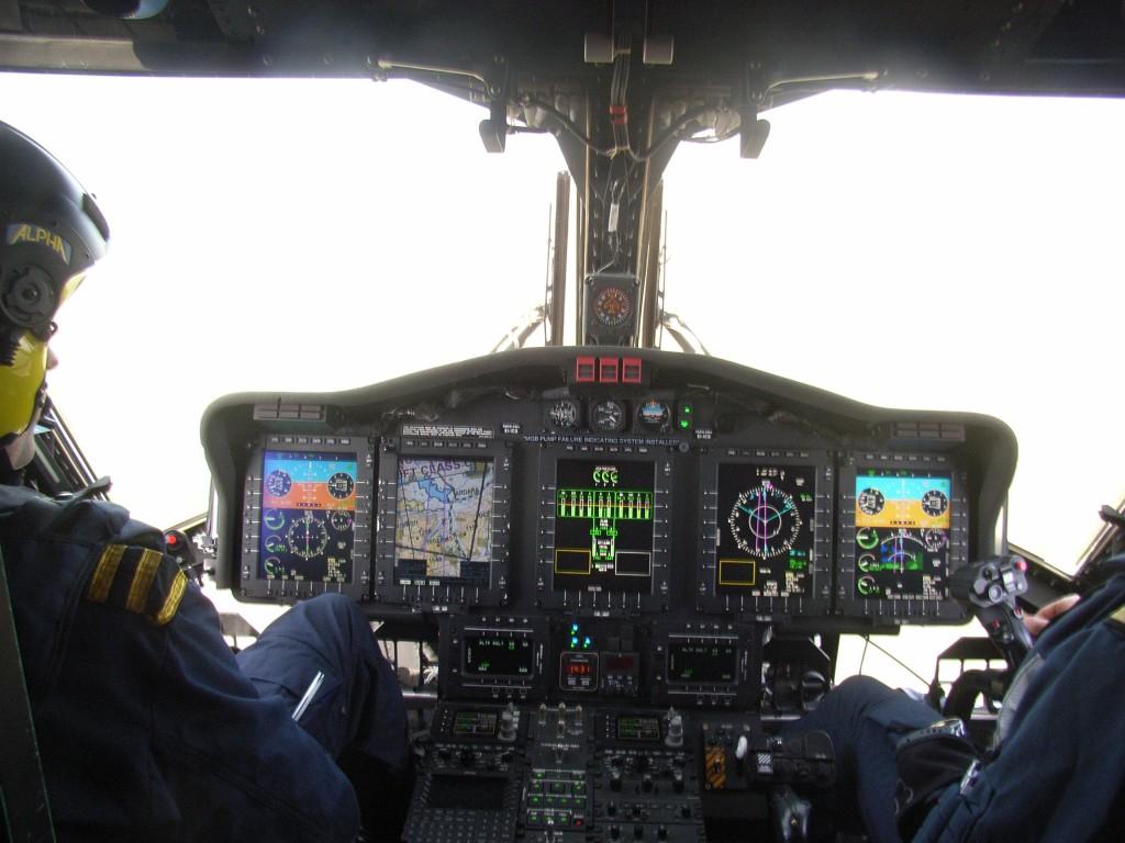 IRCG 2014 S-92 five screen glass cockpit