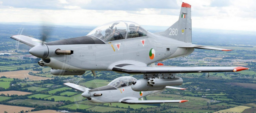 Armed PC-9s