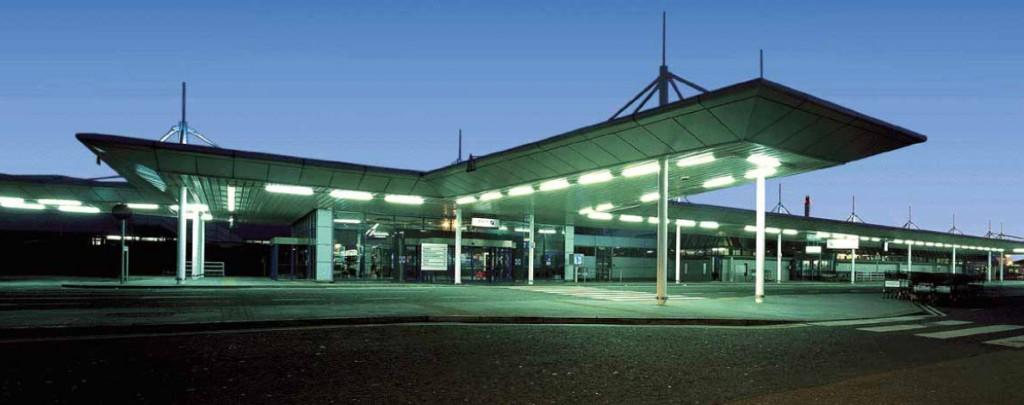 Belfast Intl Airport (night)