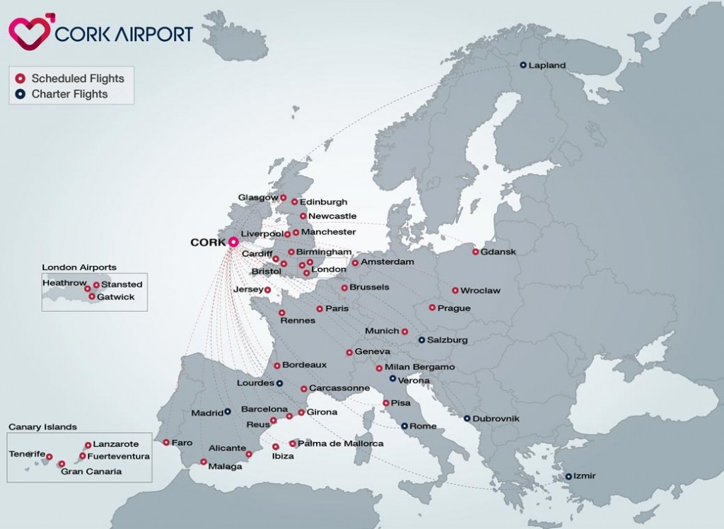 Cork Route Map 2015