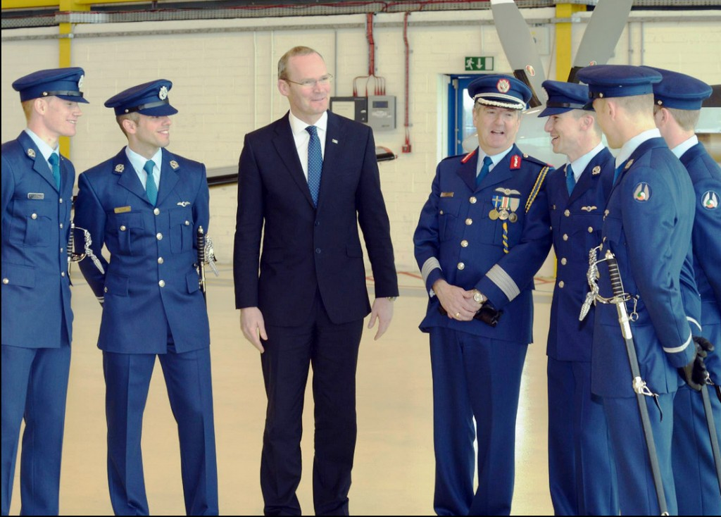 Minister Coveney, the GOC and the new pilots
