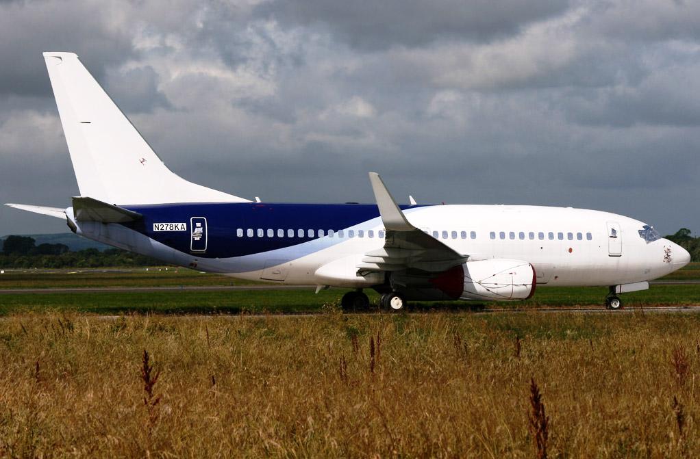 Boeing 737-73SW N278KA aquired by Ryanair (JH)