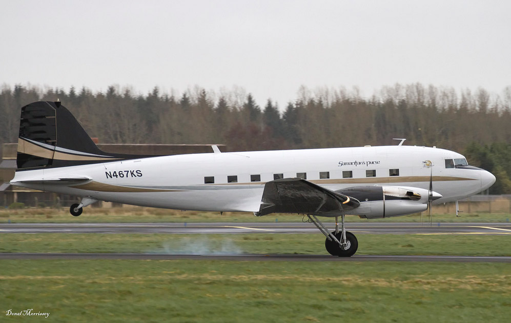 DC-3C-65TP N467KS (Donal Morrissey)