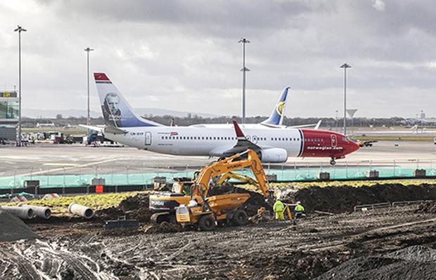 Dublin Airport Apron works (daa)