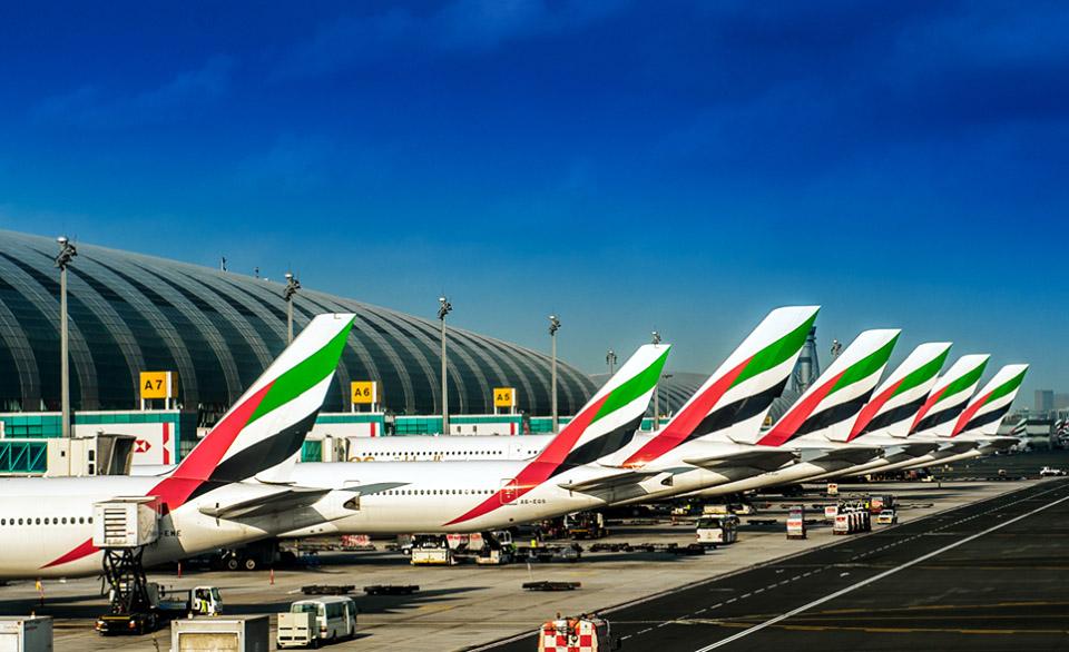Emirates' Dubai base