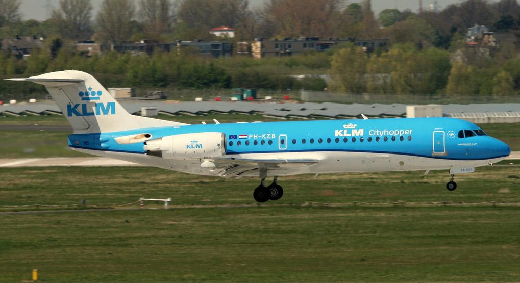 KLM Fokker 70 (JH)