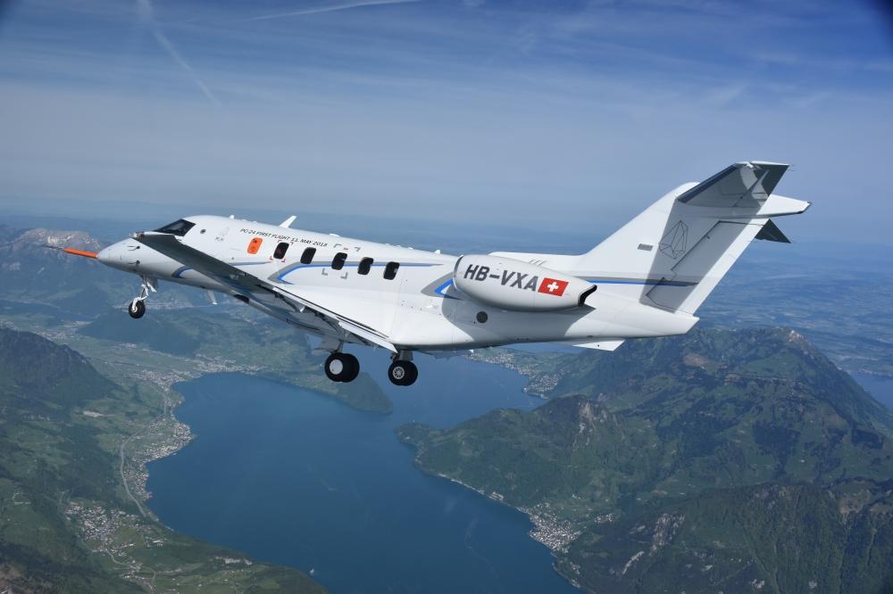 PC-24 in flight