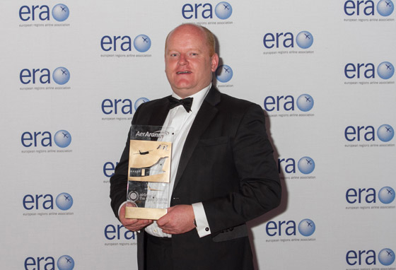 Stobart Air has been a previous winner of the ERA Airline of the Year Bronze award
