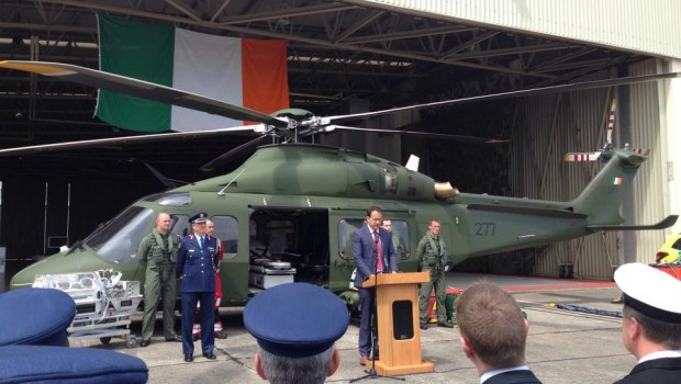 Ceremony at Baldonnel to mark 1,000 HEMS flight