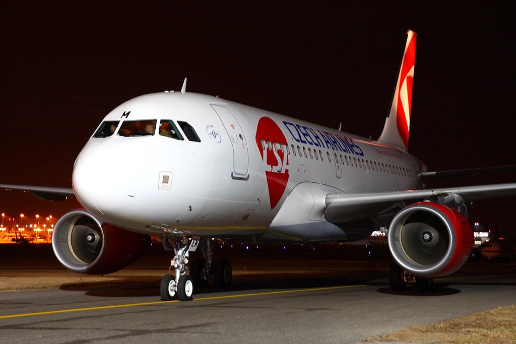 Czech Airlines A319