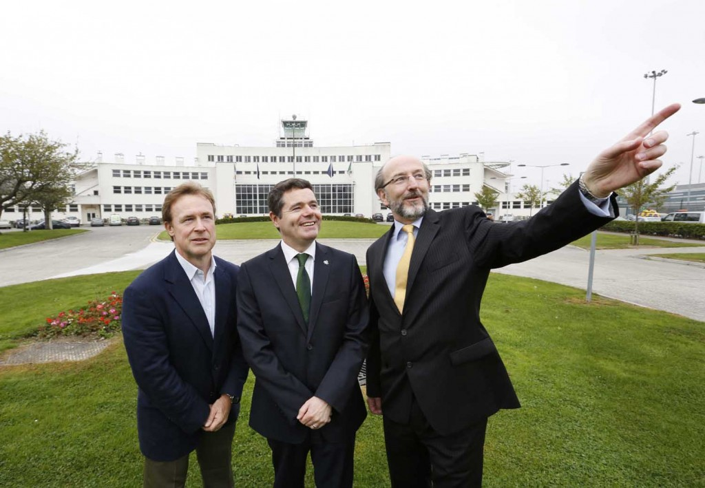 18/09/2014. DCU and daa International To Establish Dublin Aviation Institute. Pictured are (LtoR)