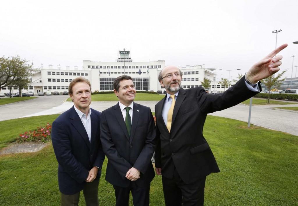18/09/2014. DCU and daa International To Establish Dublin Aviation Institute. Pictured are (LtoR)