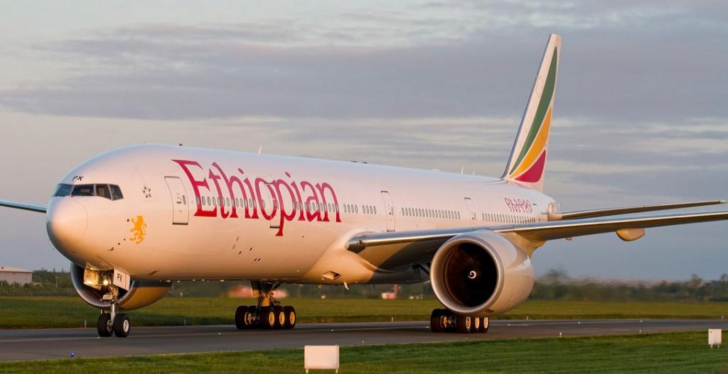 Ethiopian Airlines 777-36N(ER) ET-APX (Donal Morrissey)