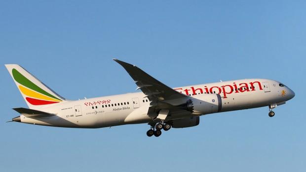 Ethiopian Airlines B787-8 ET-ASI departing Dublin (Donal Morrissey)