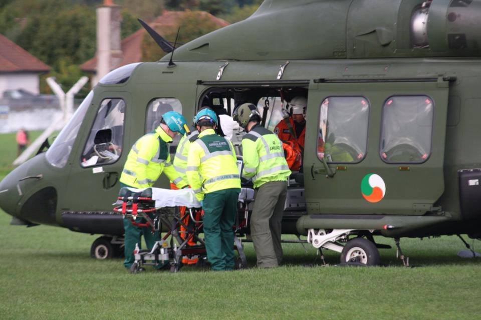 NAS Paramedics, and crew of MedEvac 112