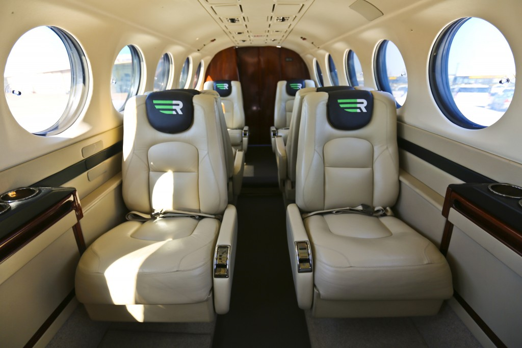 Rise  Beech King Air 350 interior