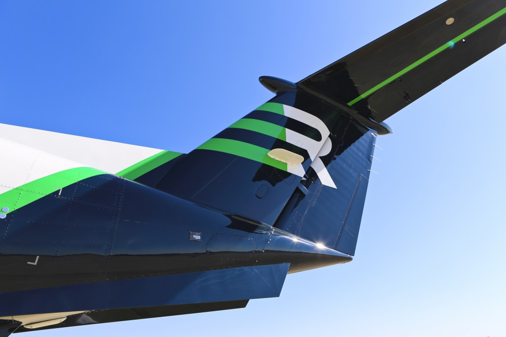 Rise  Beech King Air 350 tail