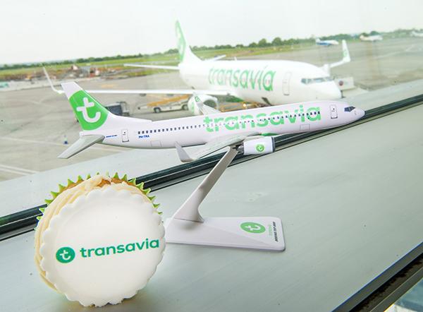 Dublin-Paris launch (new Transavia service)