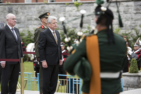 State visit to Ireland of German president (Embassy)