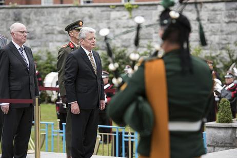 State visit to Ireland of German president (Embassy)