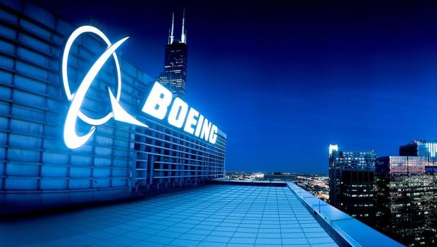Boeing - logo & building