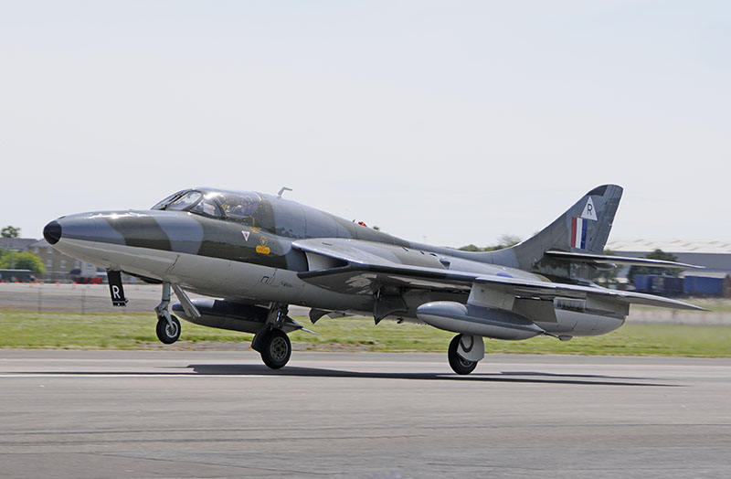 Hawker Hunter T7 trainer WV372