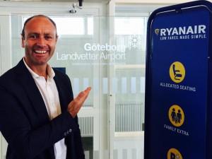 Ryanair to open Gothenburg base