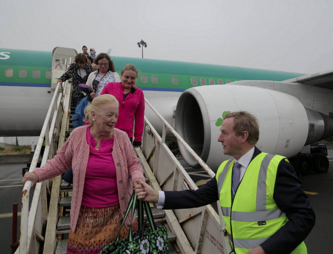 Taoiseach welcomes piligrims to Knock