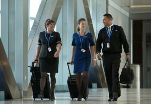 United cabin crew