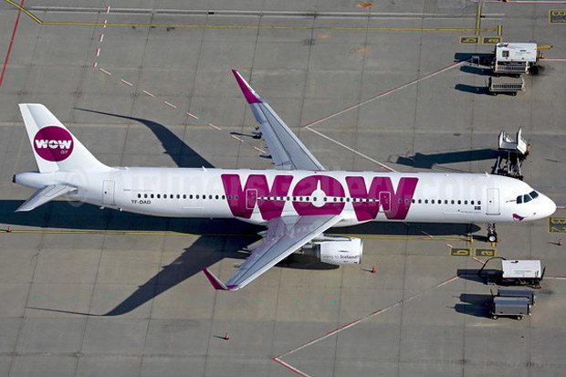 WOW Air A321-200 TF-DAD (Rainer Bexten, AirlinersGallery.com)