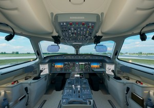 C Series cockpit