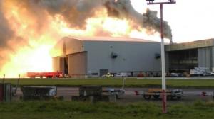 Eirtech Hangar fire