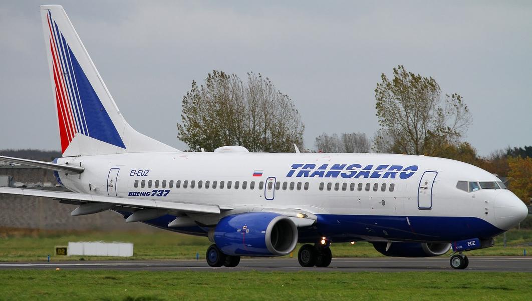 Transaero 737 EI-EUZ (D. Morrissey)