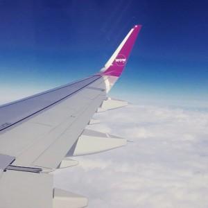 WOW Air in flight (WOW air)