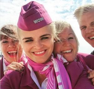 WOW air cabin crew