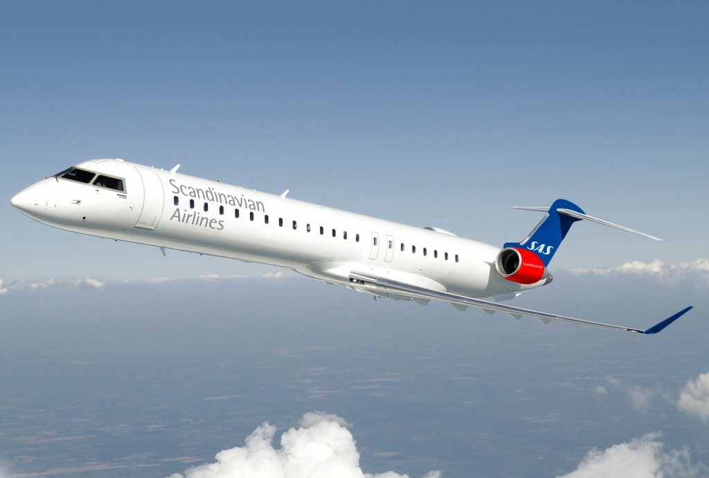 Bombardier CRJ900 regional jets for CityJet to be operated in SAS colours