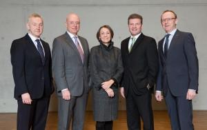 Lufthansa's Thomas Klühr, Kai Kratky, Dr. Bettina Volkens, Jens Bischof, Karl-Ulrich Garnadt
