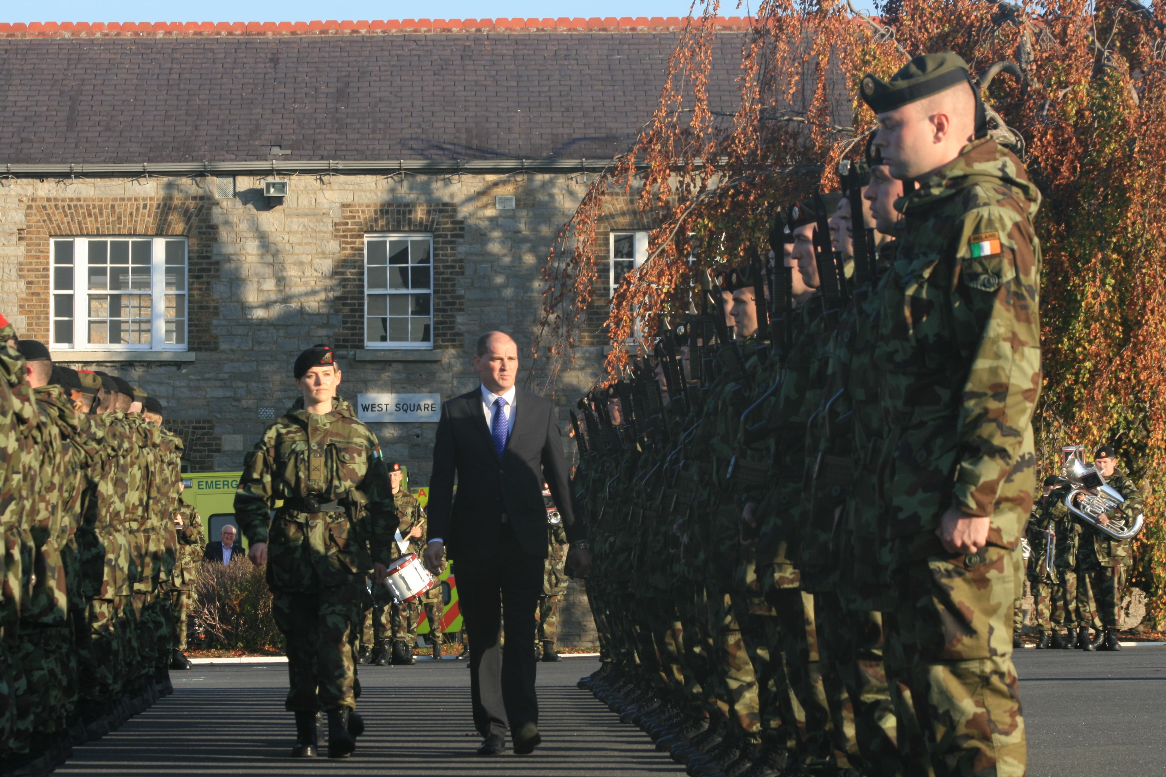 51st Infantry Group Minister & Cmt Flynn (IMG6843 JL)