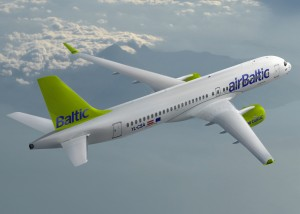 Bombardier C Series CS300 Air Baltic