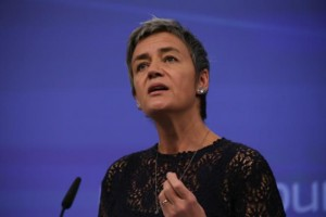 EU Commissioner Margrethe Vestager in charge of competition policy