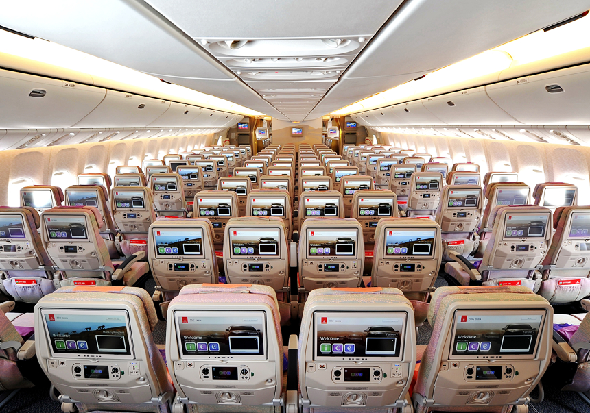 Photos Of Emirates Airline Planes Interior As a Reference For You