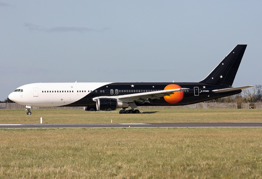 Titan Airways, Boeing 767-36N(ER), G-POWD (P. Daly)
