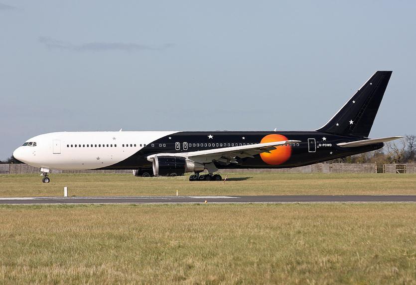 Titan Airways, Boeing 767-36N(ER), G-POWD (P. Daly)