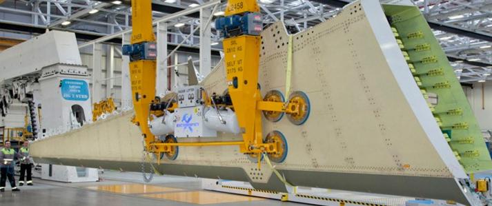 Bombardier CSeries wing