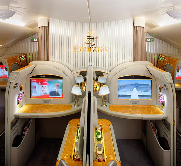 Emirates A380 1st-Class