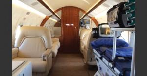 GainJets Challenger 604 interior