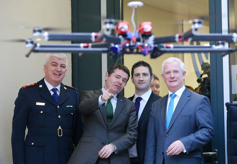 Launch of drone regulation